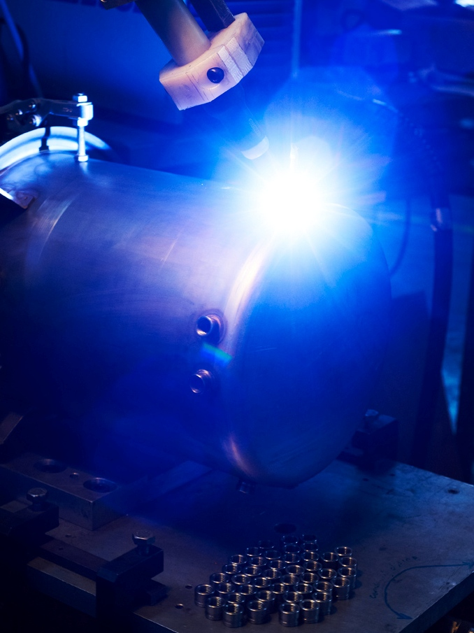 Automated equipment and TIG welding and processing equipment
