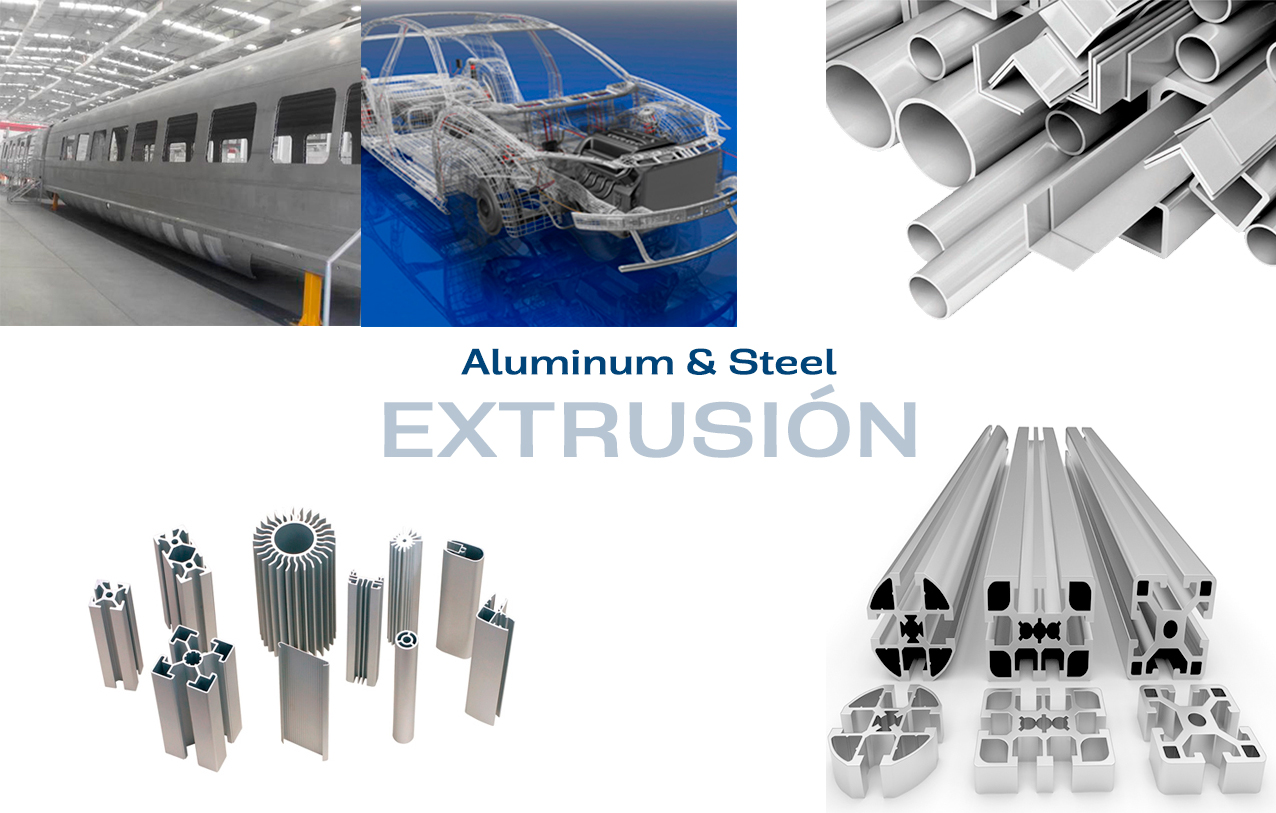 Aluminum and Steel Extrusion