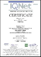IQNET - ISO 9001:2008