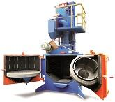 ROTATORY TABLE SHOT BLASTING MACHINES
